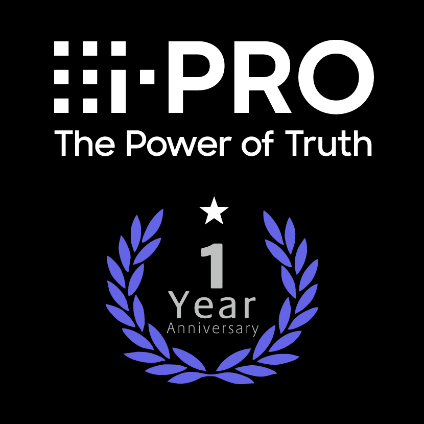 One year since i-PRO started. New owned media