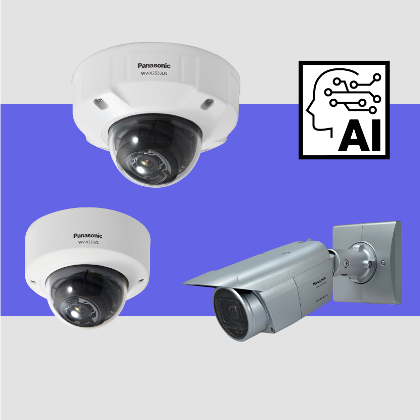 (In Japanese Only) Introducing 3 new products and 2 extension software for i-PRO EXTREME series AI network cameras