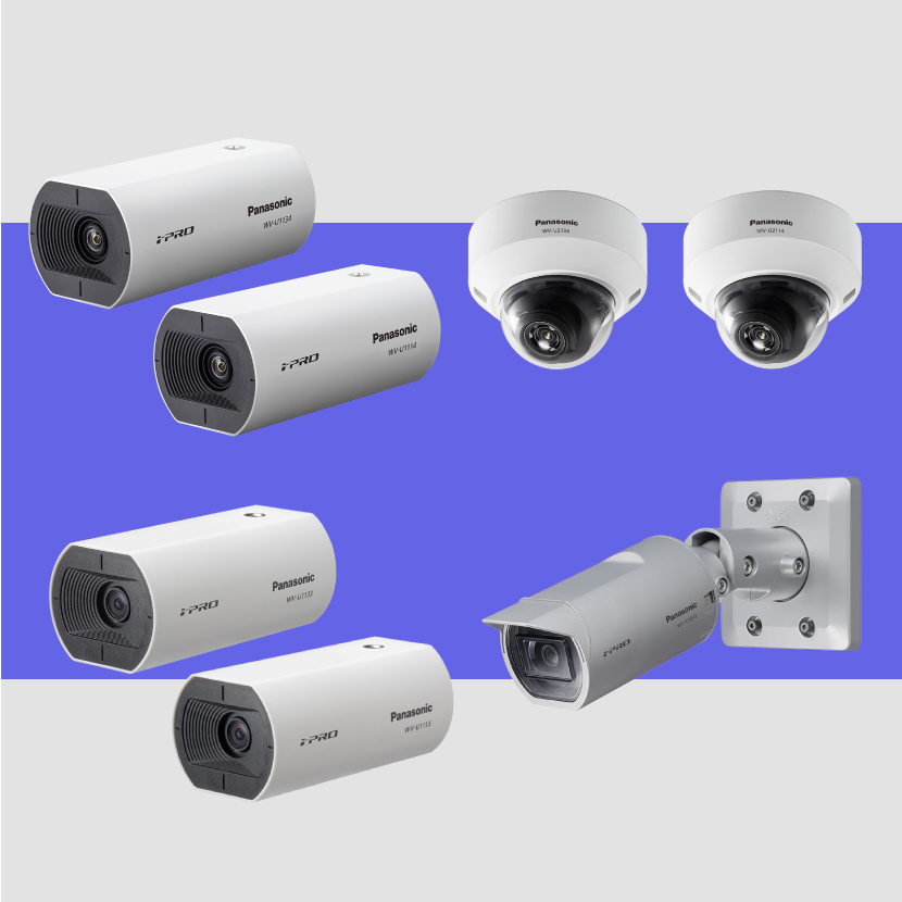 (In Japanese Only) Introducing 7 new products as entry models for i-PRO EXTREME series network cameras
